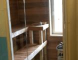 sauna lasiseinä